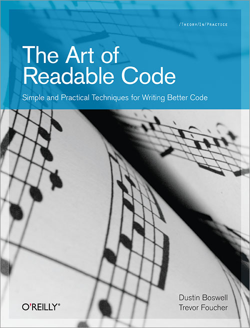 "Cover of the book ""The Art of Readable Code"""